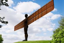 Angel of the North - NewcastleGateshead Attractions / Standing tall and watching over NewcastleGateshead, this iconic work of public art by Antony Gormley is admired by 150,000 visitors a year.  At 54m wide and 20m high, it dominates the NewcastleGateshead skyline and is an awe-inspiring symbol of North East pride and culture.