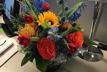 Caitlin & David's Wedding Flowers