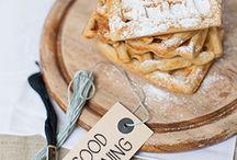 Food inspiration / Food ice cake sweets