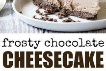 Frosty cheesecake