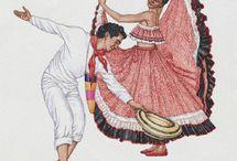 Bailes Hispanos / Hispanic Dances / by Emilia Carrillo