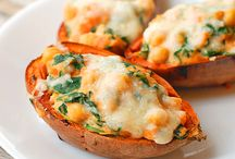 Food / Baked sweet potatoes