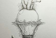 медведь на лампе