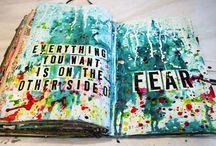 Collage/ art journals
