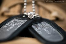 Engagement Photos (military for Cody!)