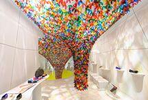 Installation / graphisme, design espace, ...