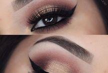 maquiagem nos olhos