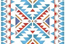 Native American Indian design.