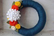 Wreaths / by Melissa Hinnant Rogers