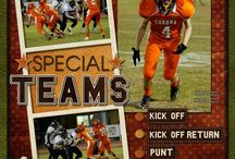 Football Scrapbooking / Scrapbooking Football layouts & products