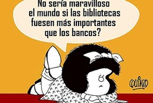 Mafalda i familia / Filosofia que mai deixa de ser actual, per desgràcia!
