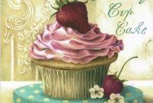 Bolachas e Cupcakes