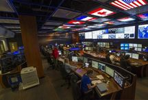 Control Rooms / dnp Optical Screens are ideal for Control room Applications