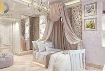 Дизайн детской комнаты / Дизайн-проект интерьера детской комнаты должен учитывать несколько факторов, начиная от того, предназначается ли она для мальчика или девочки. Выбор стиля и цветовой гаммы в этих случаях будет существенно отличаться.  Подробнее: http://www.remont-f.ru/service/design/room/dizayn-detskoy-komnaty-dlya-devochki-malchika-foto/