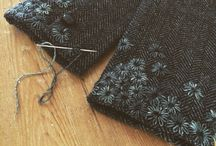 Upcycling with Embroidery / Embroidery to embellish clothing