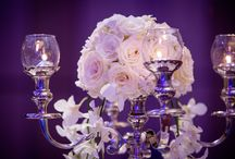 Purple Mist / The brides favourite colour purple, was incorporated everywhere for this wedding. Every little detail had the elegant touch with the hint of purple and sparkles. Creating an enchanting evening atmosphere and romance created the 'purple mist'.