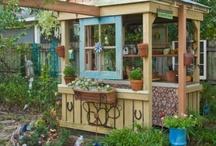 outdoors- yard art