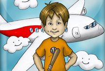 First Airplane Ride / Book 9 - Luca Lashes First Airplane Ride - Airplanes aren't  scary if you know what to expect! Just ask Luca Lashes! Make sure to check out the entire Luca Lashes series at http://www.lucalashes.com.
