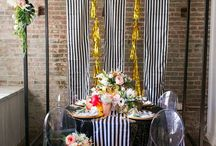 The Eclectic Wedding / Outside the box, beautiful, wedding inspiration.