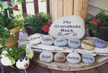 Grandparents / Gift ideas for grandparents to give to children and grandchildren