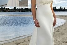 Garden and Beach Wedding Dresses from Darius Customs / Pictured on this board are images of lovely Beach Wedding Dresses that can be created for you in your measurements.  You an also make any change you want to any of these designs.  We offer brides on a budget affordable custom bridal gowns.  We can work from your pictures or sketch a design for you based on your preferences.  Email us for pricing.  You can see other design options on our main site at www.DariusCordell.com