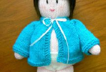 KNITTING  DOLLS AND OTHER