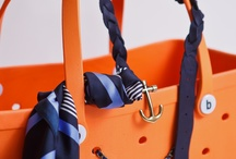 Bogg bag - BEST BEACH BAG EVER! / The waterproof, tip-proof, sturdy, large, washable, soft shoulder length straps, accessory bags for small items, colorful, fun, functional and fashionable!  Get yours at www.boggbag.com!