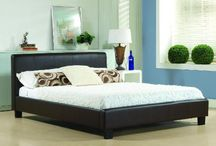 Best Leather Beds on Furniture UK Online / Amazing leather beds, confortable beds!