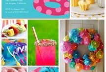 Pool Party Ideas / by Michelle Bennett Parker