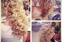 Curly hair / Curly hair ideas