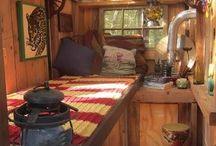 Hippie fairy homes.