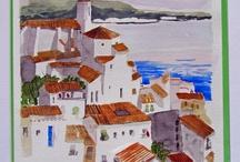 Artbachs Watercolour / Watercolour paint.