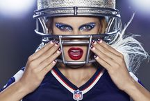 Show Your Team Spirit: Makeup & Nail TEAM LOOKS / Show your game face, by sporting your favorite sports team with makeup looks, nails, clothes and MORE!