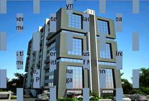 Office for rent Synergy Corporate road Prahladnagar