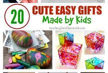 Gifts in kindergarten