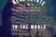 Real Estate Quotes / This board will have all the quotes that are related to #RealEstate.