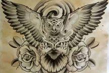 üst plaka tattoo