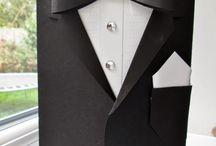 Carte homme / Veste costume