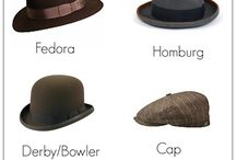 Hats i own and wouldn't mind owning / Hats lots of them  i love them...some i have but mostly i cant afford them...