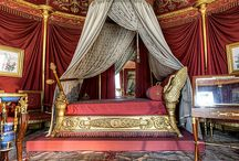 Grand Bedrooms / We took a tour around Pinterest and discovered some incredible bedrooms in grand palaces, castles and mansions. Check them out here.