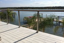 Outdoor Cable Rail Projects / http://www.stairsupplies.com/product-category/cable-railing-systems/