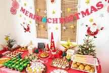 クリスマス food