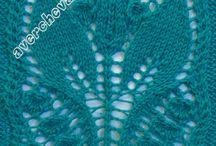 pletené vzory / pletené vzory