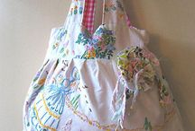 vintage linen projects / by Linda Sechrist