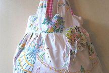 vintage linen projects