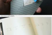Képeslap,origami