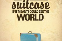 Inspiring Words / Inspiring words about the traveling world