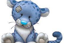 Tatty Teddy and Bluenose friends