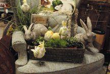 Easter Displays / Easter creations