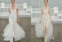 Wedding fishtail dress/魚尾禮服